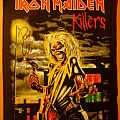 Iron Maiden - Patch - Iron Maiden - Killers backpatch (2011) SIGNED by Paul Di'Anno
