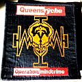 Queensryche - Patch - Queensrÿche - Operation: Mindcrime woven patch