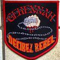 Gehennah - Patch - Gehennah - Decibel Rebel woven patch (Official '14 Bomber Recs)