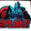 Uncle Acid & The Deadbeats - Patch - Uncle Acid & The Deadbeats woven house patch