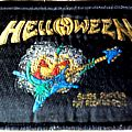 Helloween - Patch - Helloween - Savage Pumpkins Play Rock 'n Roll woven patch