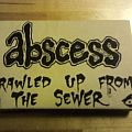 Abscess - Tape / Vinyl / CD / Recording etc - Abscess - Crawled up from the Sewer 1995 MC