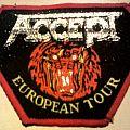 Accept - Patch - Accept - European Tour patch