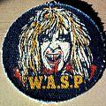 W.A.S.P. - Patch - W.A.S.P. - Blackie Lawless vintage printed denim patch