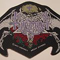 Tiamat - Patch - Tiamat Woven logo patch 1993