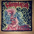 Whiplash - Patch - Whiplash - Power and Pain bootleg patch