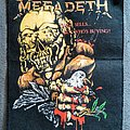 Megadeth - Peace Sells... But Who's Buying? backpatch