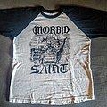 Morbid Saint - Lock Up Your Children baseball shirt