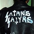 Satan's Satyrs - Battle Jacket - I made my logo
