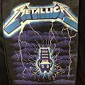 Metallica - Ride the Lightning Vintage Backpatch