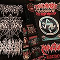 Starting my black and white death/black/blackened death metal vest