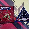 Warrant And Massacre Patches To Fred Rattlehead
