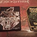 Asphyx And Morbus Chron Patches