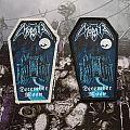 2 Rare Morbid Coffin Patches