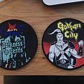 Gotham City And Dark Angel Patches
