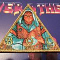 BLUE ÖYSTER CULT Fire Of Unknown Origin woven bootleg patch (golden border)