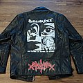 Discharge - Battle Jacket - Hand Painted Leather Jacket