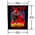 Cancer - Death Shall Rise Official Woven Back Patch (Coming Soon)