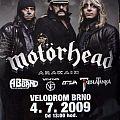 Motörhead, Brno 4.7.2009 (Poster)