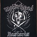 Motörhead - Bastards (Backpatch)