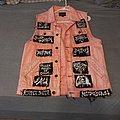 Anal Cunt - Battle Jacket - Pink Mass (Extreme Vest)