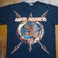 Amon Amarth - TShirt or Longsleeve - Amon Amarth - Across The Atlantic 2003 tour shirt