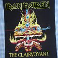 Patch - Iron Maiden - The Clairvoyant backpatch 1988