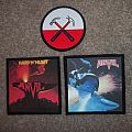 Anvil and Pink Floyd patches