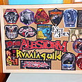 Sanctuary - Patch - Board of patches