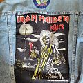 Iron Maiden Killers back patch from 1981