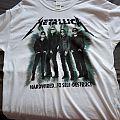 Metallica Worldwired shirt