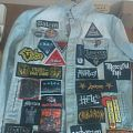 Mostly NWOBHM patch jacket update