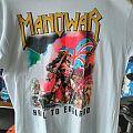 Manowar Hail to England shirt