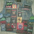 thrash metal battle jacket