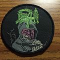 Death - Leprosy Vintage Patch With Pink Face