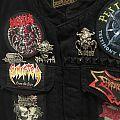 My Death Metal Vest, 70% completed.