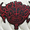 Archgoat DWTMH Leather Backpatch.