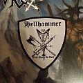 Hellhammer - Patch - ONLY FOR REVIEW!!! Only Death Is Real(Shield)