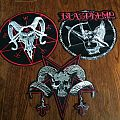 Blasphemy - Patch - Three Leather Backpatches!!!