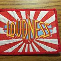 Vintage 80s LOUDNESS patch Sold to NEC