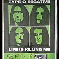 Type O Negative - Other Collectable - Signed Backstage pass & Type O Negative gig poster from L'Amour in Brooklyn, NY...