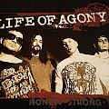 """Life Of Agony - TShirt or Longsleeve - Exclusive Life Of Agony """"Honest. Strong. True."""" band shirt - directly from..."""