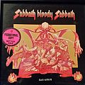 "EXTREMELY RARE 1973 Warner Bros ""white label"" first pressing PROMO vinyl of Black Sabbath's finest hour: Sabbath Bloody Sabbath"