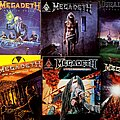 Megadeth - Other Collectable - Megadeth - 12 Album Guitar Music/Tab Songbooks - complete collection