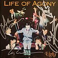 """Life Of Agony - Tape / Vinyl / CD / Recording etc - Life Of Agony's """"Ugly"""" autographed by all bandmemembers"""