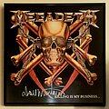 Megadeth - Other Collectable - Megadeth - 'Killing Is My Business....And Business Is Good!' signed by Dave...