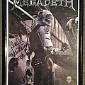 """Megadeth - Other Collectable - Megadeth - Dave Mustaine signed """"Dystopia"""" lithograph"""