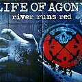 """Life Of Agony - Other Collectable - Life Of Agony  -  """"River Runs Red"""" graphic art / album artwork poster promo"""