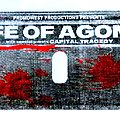 """Life Of Agony - Other Collectable - Life Of Agony  -  """"Broken Valley"""" concert / gig poster signed by artist"""
