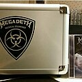 """Megadeth - Other Collectable - Megadeth - """"Vic Rattlehead Medical Examiner"""" filing cabinet style CD storage..."""